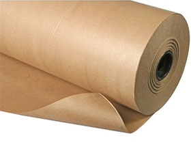 Wrap your parcels with brown Kraft paper rolls from Ferrari Packaging.