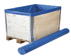 Pallet top covers and pallet protection from Ferrari Packaging.
