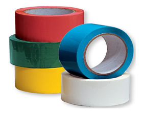 Coloured polypropylene tape wholesale available to purchase now.