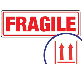 Buy adhesive labels wholesale at Ferrari Packaging.