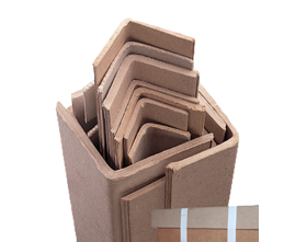 Solid board edge protectors and packaging supplies Glasgow
