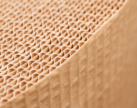 CORRUGATED PAPER 350MM X 75M