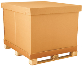 Palletised containers and pallet strapping available now