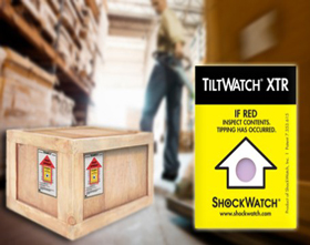 Tiltwatch® Tilt Indicator Labels
