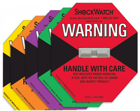 Shockwatch® Impact Indicator Labels