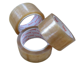 TAPE CLEAR 48MM X 66M HOTMELT PP