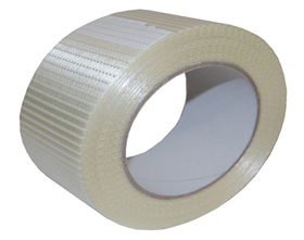 TAPE CROSS WEAVE 50MM X 50M (18/CASE)