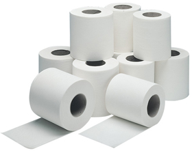 2-ply Soft Conventional Toilet Tissues (200 sheet)