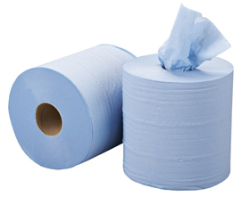 2-ply Blue Centre Pull Rolls