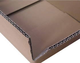 Heavy duty double wall cardboard boxes for sale in bulk