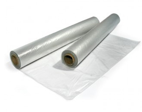 Polythene C/Fold Sheeting 1m / 2m X 100m 100mu 18kg/roll