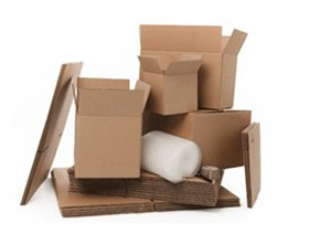 Cardboard boxes Glasgow in home moving kits available now